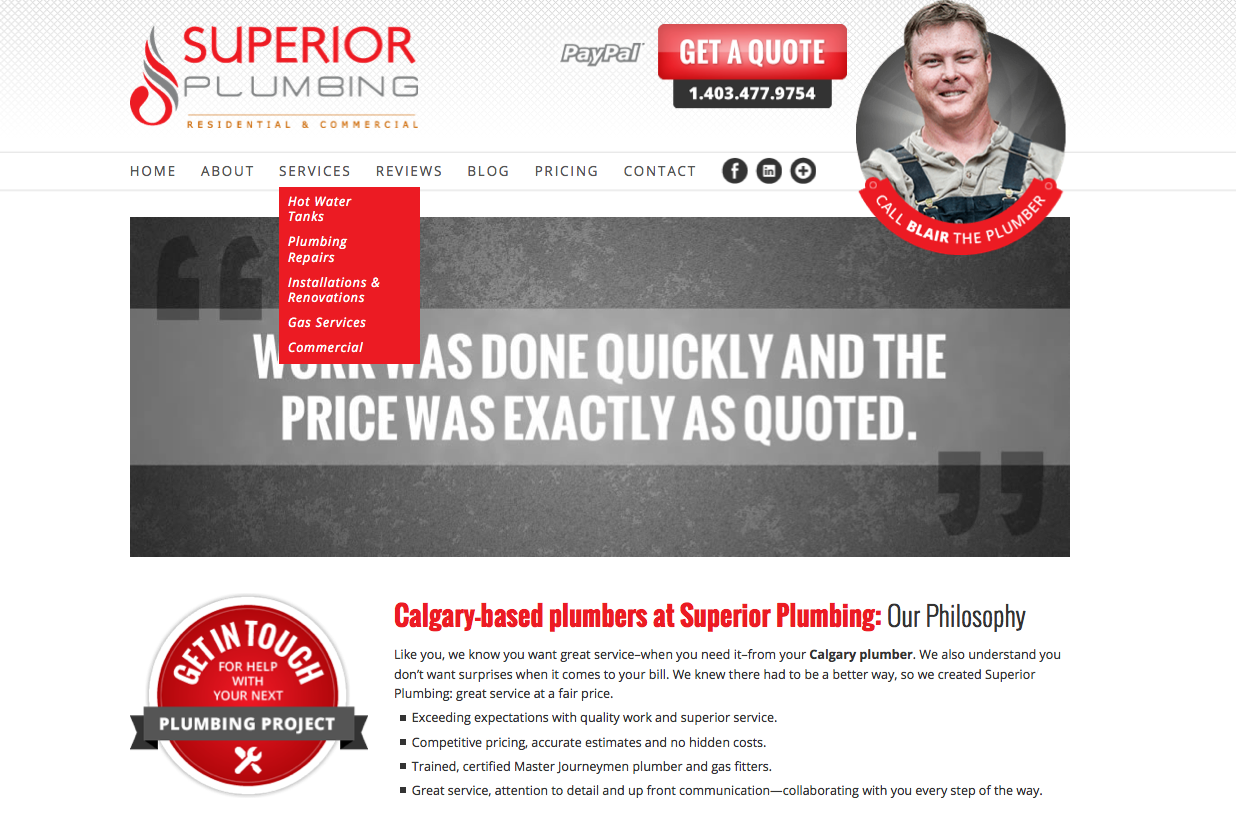 superior atlanta see more consultant firm plumbing marketing wicked work our billboards services
